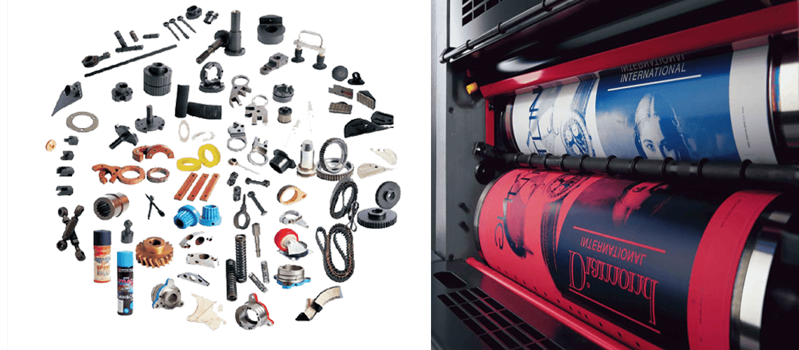 Offset and Digital Press Parts