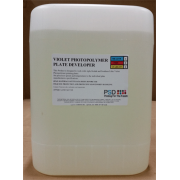 PSD Violet Photopolymer Plate Developer, 5-gallons