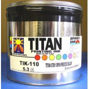 Titan Stay-Open Process Black, 5 lbs.