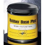 Rubber Base Pantone Yellow 1 Lb.