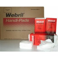 "Webril Pads, 4"" X 4"", 100 per Package, 20 Packages per Case"