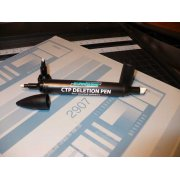 CTP-1000 Deletion Pen, 3-Tips in One Pen - FREE SHIPPING