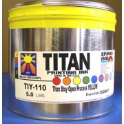 Titan Stay-Open Process Yellow, 5 lbs.