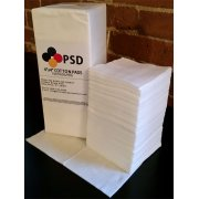 "PSD Webril Cotton Pads, 4"" X 4"", 100 per Package"