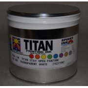 Titan Stay-Open Transparent White, 5 lbs.