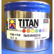 Titan Stay-Open Process Cyan, 5 lbs.