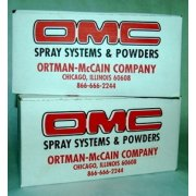 OMC Spray Powder - 320 POWDER 4X5 LB. BOXES UNCOATED/20 MICRON