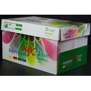 8.5 x 11 Rainbow Max Carbonless Paper, 2 part, 5000 Sheets