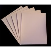 8.5 X 11, 10 sheets/box, Fine Art Canvas Paper, Glossy, 16mil