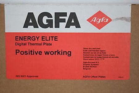 Agfa Energy Elite Plates PSD