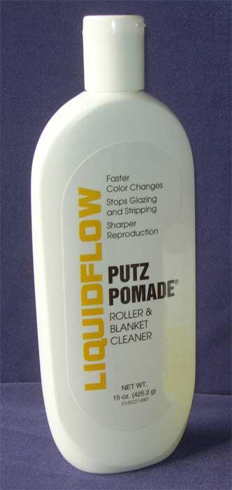 Putz Pomade Roller Amp Blanket Cleaner Liquid 15 Oz Bottle