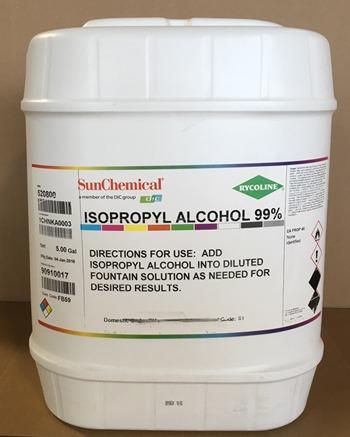Rycoline Isopropyl Alcohol 5 Gallons Psdry 520800 5p
