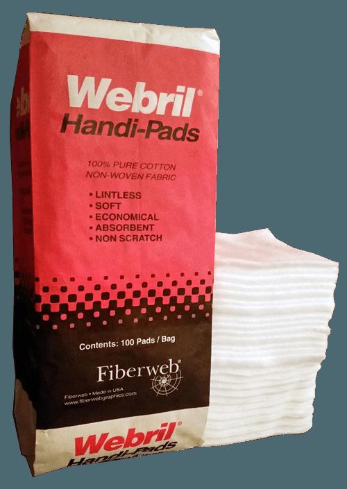 Webril Cotton Pads 4 Quot X 4 Quot 100 Per Package