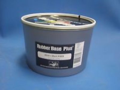 Rubber Base Black 10850, 2.2 lbs.