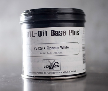 Oil Base Opaque White 1.4 LB