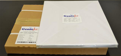 "13""x19 3/8"" GenieJet Plates, .008 gauge, in a box of 100 plates"