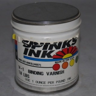 Spinks V-1 Binding Varnish