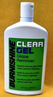 Clear Gel Glaze Remover, 32 Ounce Bottle