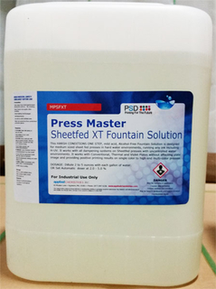 Press Master Sheetfed XT Fountain Solution, 5 Gallons