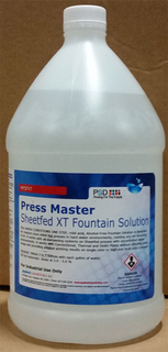 Press Master Sheetfed XT Fountain Solution, 1 X 4 Gallons