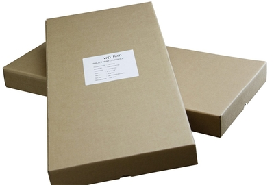 8.5 x 14 Gloss Waterproof Inkjet Film, 4mil, 100 Sheets