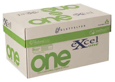 8.5 x 14 Excel One Carbonless Paper, 4 part, 5000 Sheets