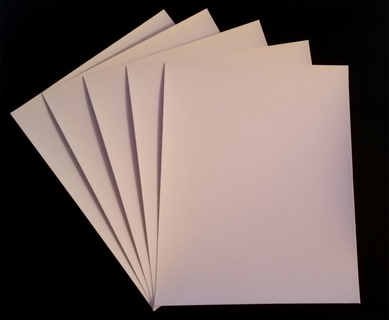8.5 X 11, 25 sheets/box, Fine Art Canvas Paper, Glossy, 16mil