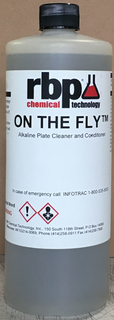 ON THE FLY Plate Cleaner, 1-Quart