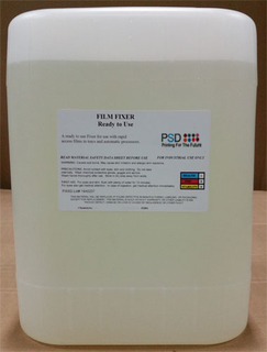 PSD Film Fixer & Replenisher, Ready-to-Use, 5 Gallons