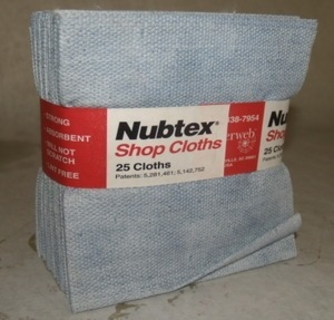 "Nubtex Cloths, 16"" X 17"", 375/Case"