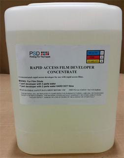 PSD Film Developer & Replenisher, Concentrate, 5 Gallons