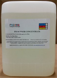 PSD Film Fixer, Concentrate, 5 Gallons