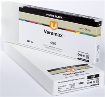 Veramax Photo Black Ink Cartridge - 220 ml - 4800