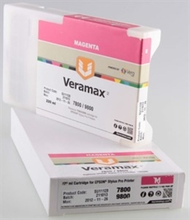 Veramax Magenta Ink Cartridge - 220 ml - 7800/9800