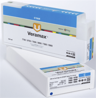 Veramax Cyan Ink Cartridge - 350 ml - 7890/9890