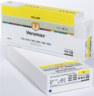 Veramax Yellow Ink Cartridge - 350 ml - 7700/9700